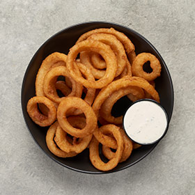 Warm Up Onion Rings