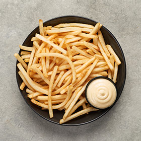 Warm Up Shoestring Fries
